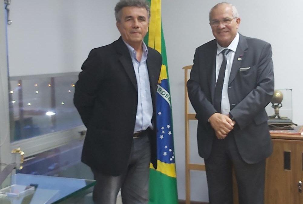 IRACEMA Digital é apresentado a Elifas Gurge, Secretário do MCTIC, em Brasília