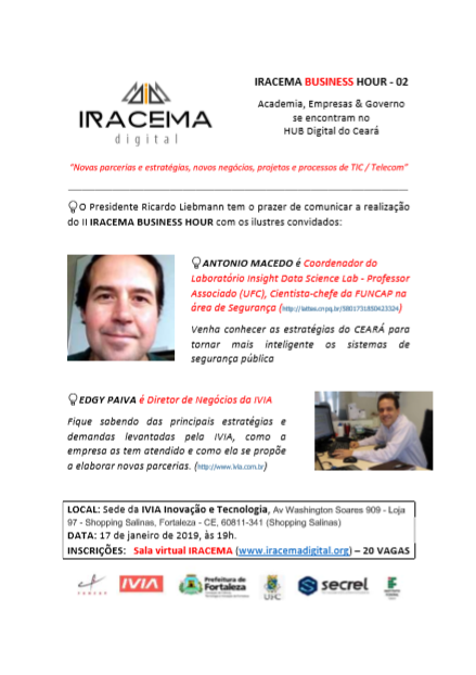 II IRACEMA Business Hour