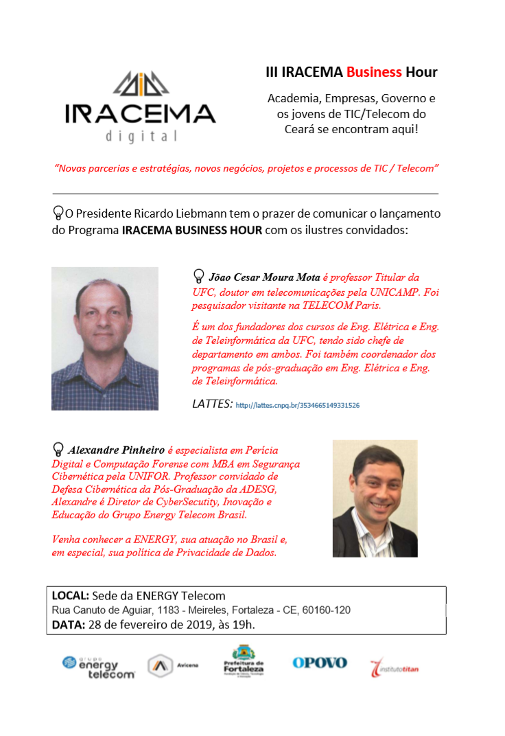 III IRACEMA Business Hour