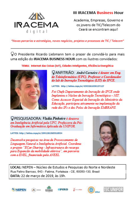 IV IRACEMA Business Hour