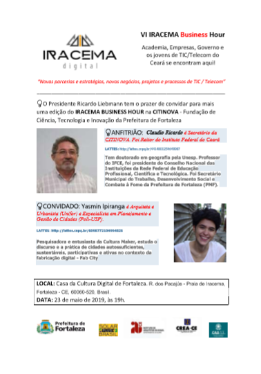VI IRACEMA Business Hour