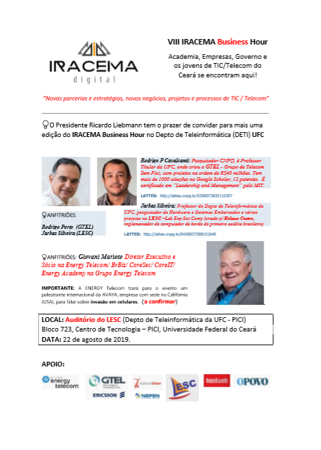 VIII IRACEMA Business Hour