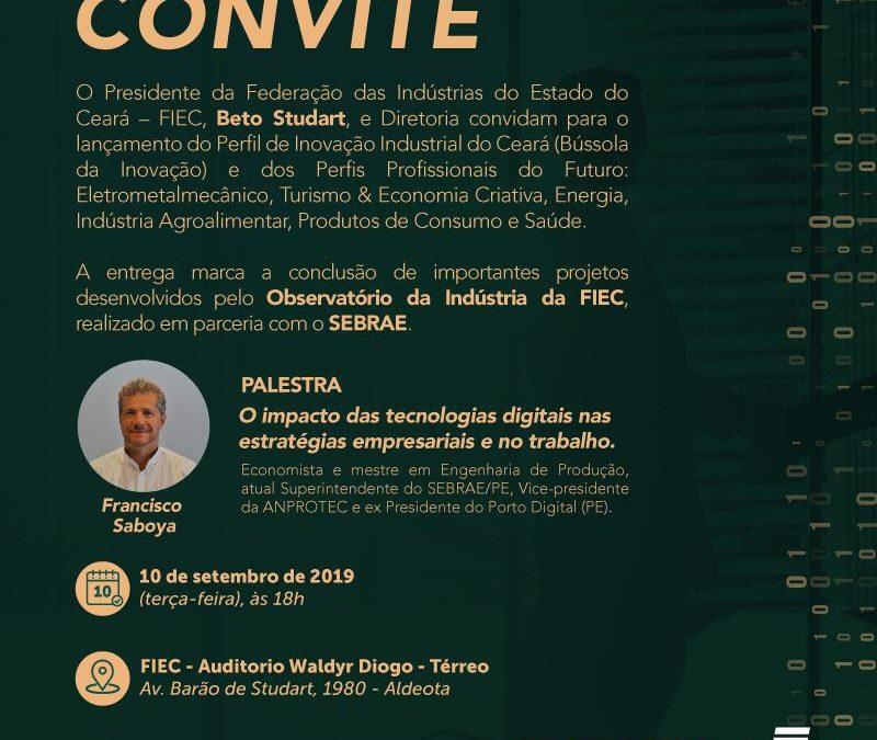Palestra de CHICO SABOYA na FIEC