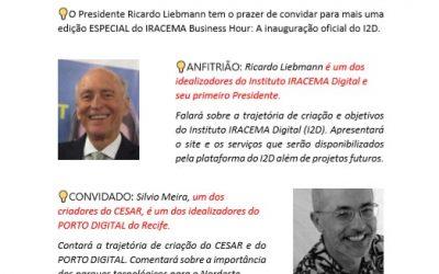 Presidente Ricardo Liebmann Recebe Silvio Meira
