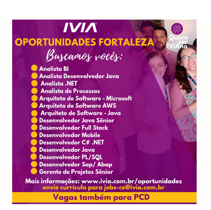 Oportunidades IVIA Fortaleza