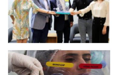 Criado no Ceará, capacete Elmo reduz em 60% necessidade de internação em leitos de UTI
