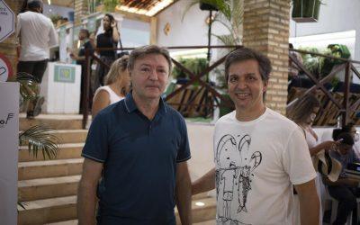 ROMULO SOARES, ao lado do MAURICIO FILIZOLA, Presidente da FECOMERCIO (patrocinadora da II Escola de Verão em IA), acaba de confirma PRESENÇA na I reunião de planejamento da III Escola de Inverno em IA do IRACEMA Digital